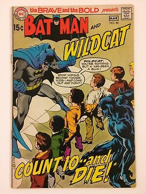 The Brave And The Bold #88 DC Comics (Mar, 1970) FN- Batman Wildcat