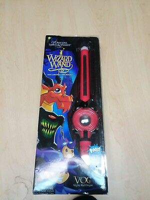 NEW Of Dragons Fairies and Wizards- Wizard Wand Vog: Mighty Red Dragon