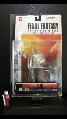 Final Fantasy Figur Dr. Sid Bandai Neu OVP The Spirits Within F. becomes reality