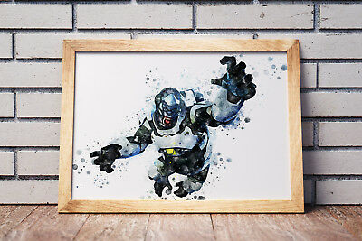 Overwatch Poster Gaming Room Wall Decor Print PC Game Art Gift n067