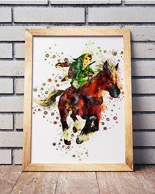 Legend of Zelda Poster Gaming Room Wall Decor Print PC Game Art Gift n039