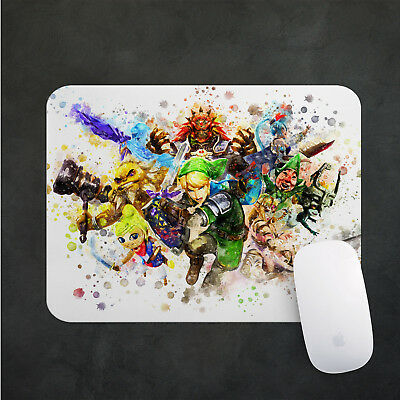 Legend of Zelda Mouse Pad  Gaming Mousepad 38x48cm Desk Mat PC Game Gift n027