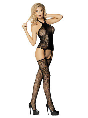 Catsuit Ouvert LD 10 - sexy Bodystocking von Let's Duck