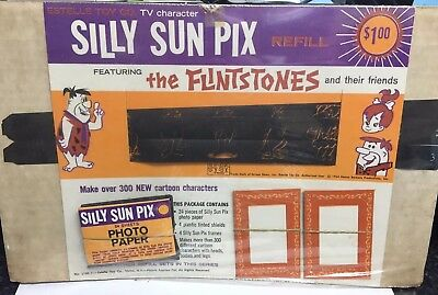 FLINTSTONES Silly Sun Pix Refill (SEALED) Estelle Toy Co. 1964