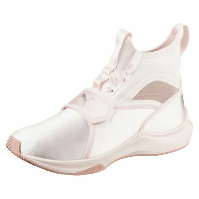 96cd468d03c PUMA Women s Phenom Satin EP Training Casual Shoes Sneakers Pearl Pink Size  7