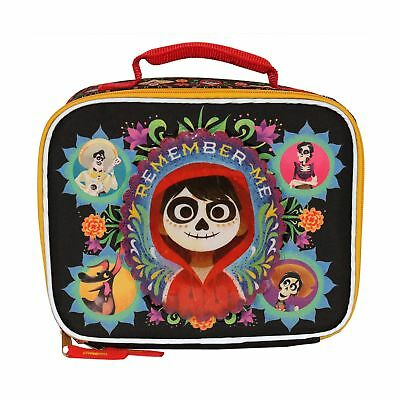 510ab1bc64b DISNEY PIXAR COCO Insulated Lunch Bag Lunch Box Black One Size ...