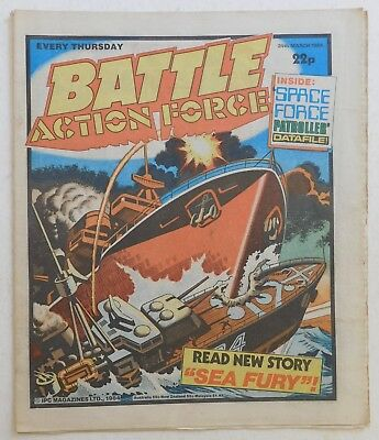 BATTLE - ACTION FORCE Comic - 24th March 1984