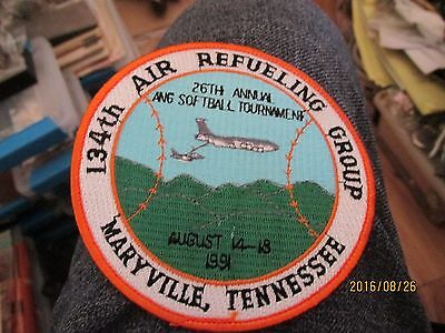 us air national guard patch Tennessee Air Force 134th AirRefuelingGrp