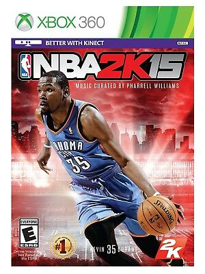 Nba 2K15 Kevin Durant Cover * Xbox 360 * Brand New Factory Sealed!