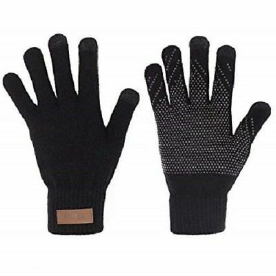 Touch  Screen Magic Gripper Winter Gloves  Men, Ladies Kids For Smart Phone