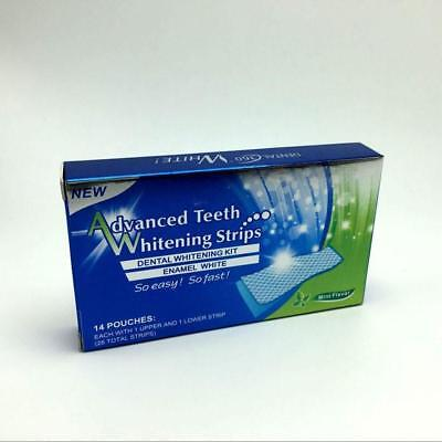 3D Advanced Professional Teeth Whitening Strips 2 Week Supply