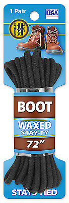 """WESTMINSTER PET PRODUCTS 72"""" BLK Waxed Boot Lace 311-32"""