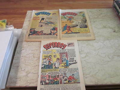 Superman's Pal Jimmy Olsen Silver Age Coverless group (7 issue lot)