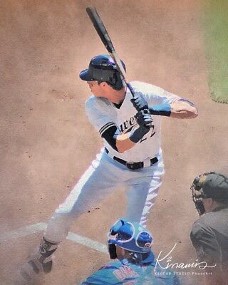 Christian Yelich Milwaukee Brewers NL MVP Classic Print from Oil Various Sizes