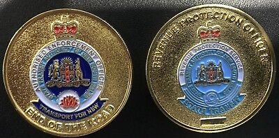Challenge Coin - STA Revenue Protection Unit