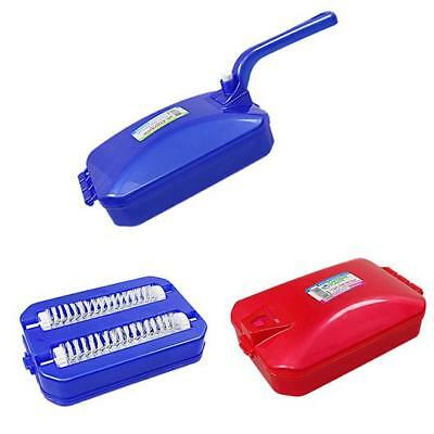 Dust Pan Brush Mobile Glider Plastic