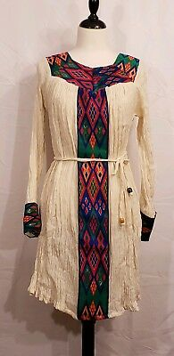 Ethiopian / Eritrean Dress, Traditional Clothes, short length Sizes S / M