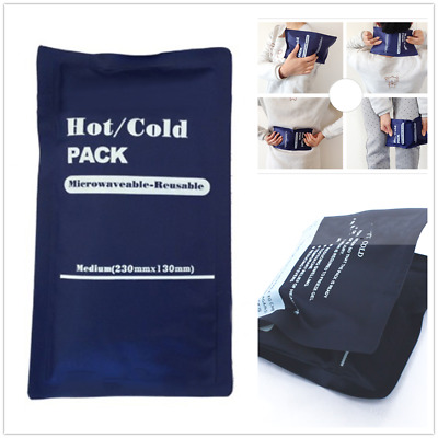 Hot/Cold Pack Reusable Microwaveable Heat Ice Gel Pack First Aid Pain Relief