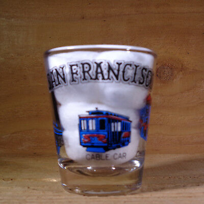"SAN FRANCISCO ""Shot Glass"" orig."