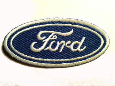FORD PATCH BLUE OVAL LOGO EMBLEM BADGE EBROIDERED IRON ON vintage muscle car