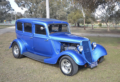 1934 Ford Custom Hot Rod Muscle Car- Vintage not Cadillac Oldsmobile mustang