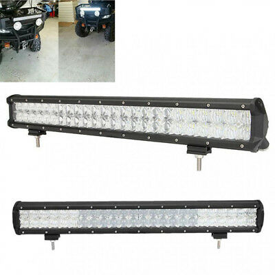 """23"""" 4wd Offroad Combo Bright 5d Auto Light Work 6500k Led Bar Suv 336w"""