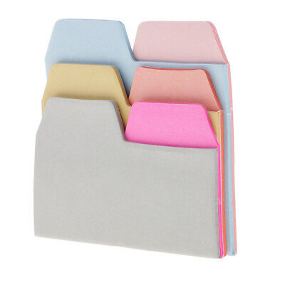 90Pc Index Labels Flags Index Tabs 6 Color Sticky Notes Writable Labels Page