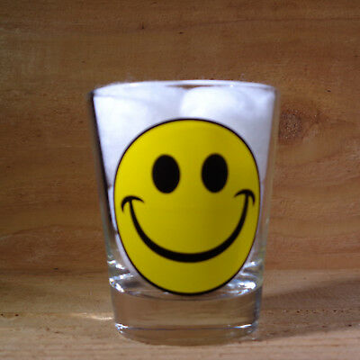 """SMILEY HAPPY FACE """"Shot Glass"""" orig."""