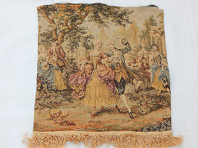 Vintage French Beautiful Scene Tapestry 44x42cm (T1081)