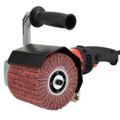 Wire Drawing  Whee  with emery paperl for Polisher Sander wheel  High quality