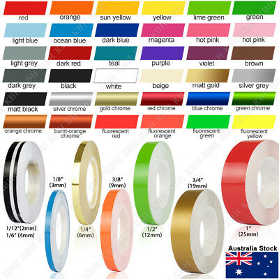 Roll Pin Stripe Car PinStriping PinStripe Styling Decal Line Tape Vinyl Stickers