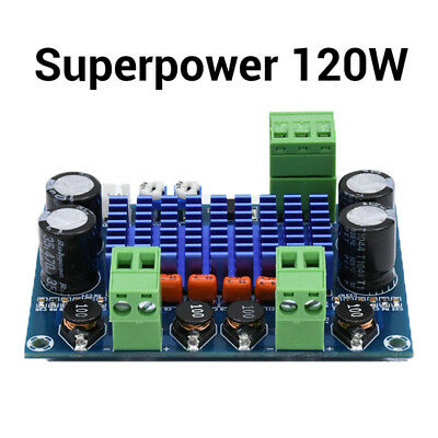 120W Ultra Power TPA3116D2 Digital amp Audio Amplifier Board Modul DC 5-28V DE