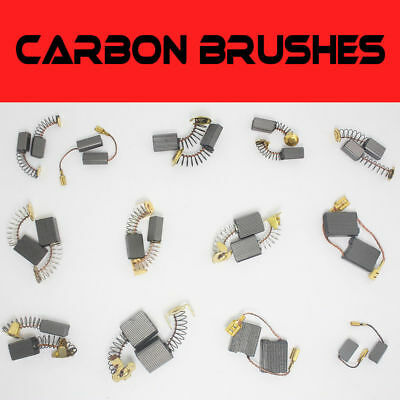 20Pcs Various Size Carbon Brushes Repairing Part Tool For Generic Electric Motor