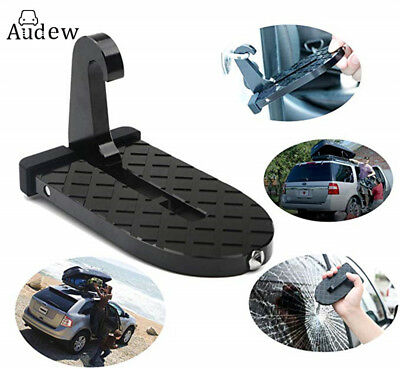 AUDEW Vehicle Access Rooftop Doorstep Roof-Rack U Shape for Car Jeep SUV Safety