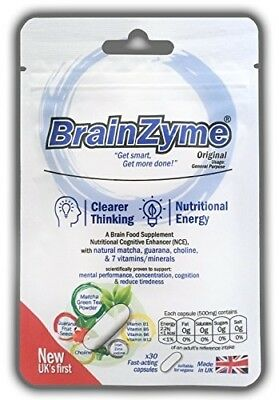 BrainZyme® Original for Concentration Motivation: UK's 1st Specialist Brain