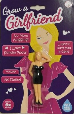 NEW Grow Your Own Girlfriend - Free Postage