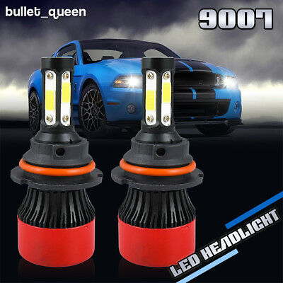9007 HB5 LED Headlight Bulbs Kit for 1996-2007 Dodge Grand Caravan High Low Beam