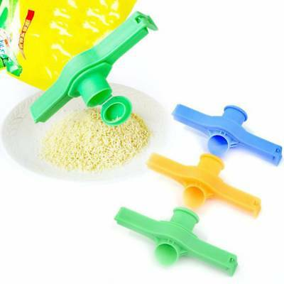 Durable Kitchen Storage Food Snack Seal Sealing Bag Clips Clamp Plastic