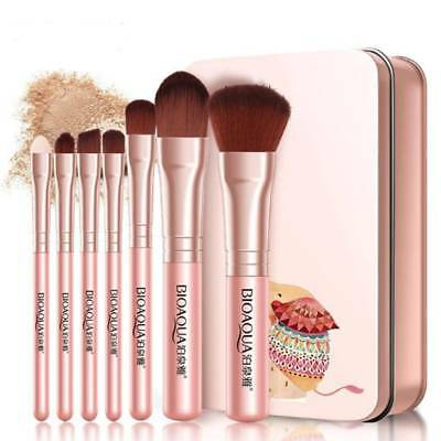 Makeup 7pcs/set Brushes Set Powder Foundation Eye shadow Eyeliner Lip Brush Tool