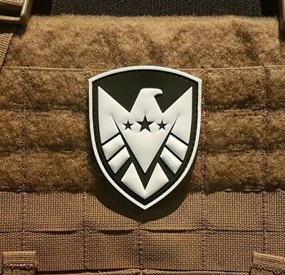 Avengers PVC - glow in the dark - airsoft Morale Patch