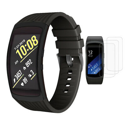 Silicone Replacement Wrist Band Strap Bracelet For Samsung Gear Fit 2 / Fit2 Pro