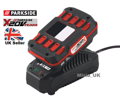 Parkside Battery 20v Team PAP 20V A1 + Charger PLG 20 A1 (MADE IN GERMANY)