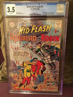 Brave and the Bold #54 1964 CGC 3.5 1st app. Teen Titans! Silver Age