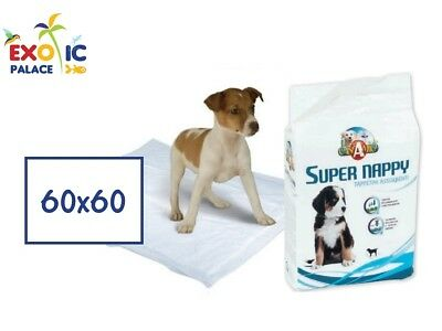 MATS HYGIENIC SUPER NAPPY 60x60cm SLEEPERS ABSORBENT DIAPERS FOR DOG