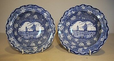 Maling 1929 North East Coast Exhibition Pair of Bowls