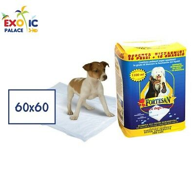 MATS HYGIENIC FORTESAN 60x60cm TRAVERSE ABSORBENT DIAPERS FOR CAT DOG
