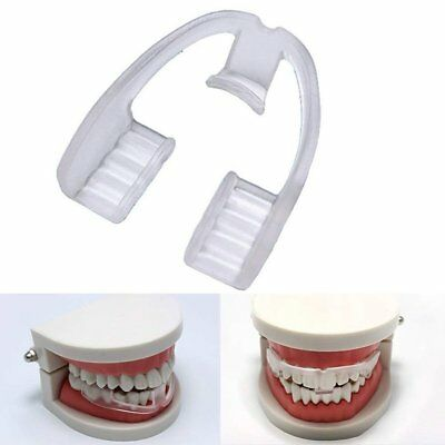 Silicone Dental Mouth Guard Bruxism Sleep Aid Night Tooth Grinding Brace Rapture