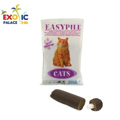 Easypill Cat Snack Twinks Pour À Donner Administrer Tablette Pilule Au Chat
