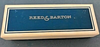 Reed & Barton Folding Silver Comb--New in box
