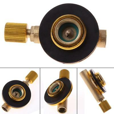 Foldable Camping Picnic Flat Cylinder Gas Stove Burner Control Switch wel New